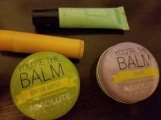 What is left of my lip balm stash