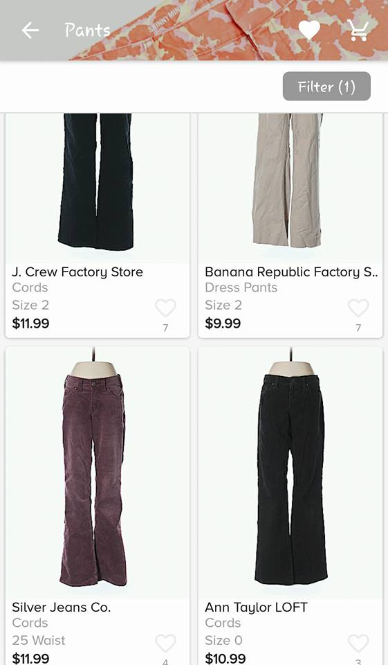 Pants from ThredUp Consignment